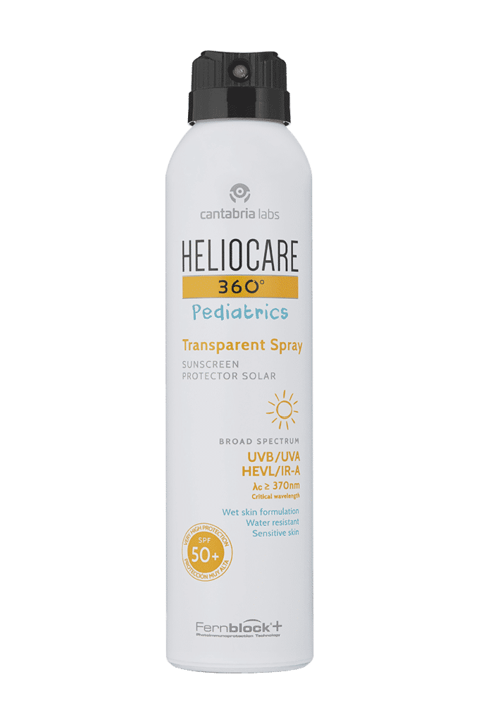 Heliocare 360° Pediatrics Transparent spray SPF 50+ 200ml