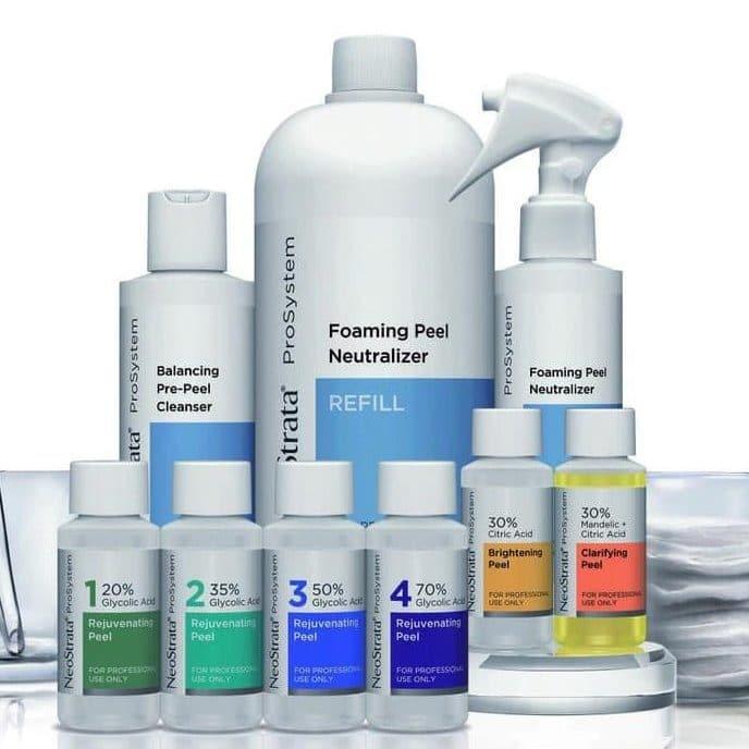 NeoStrata ProSystem kozmeticke produkty na chemicky peeling